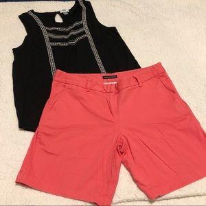 Counterparts Coral Bermuda Shorts